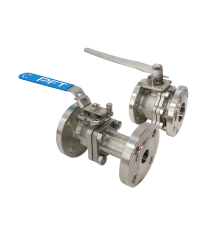 DIN PN16 / PN40 Flanged Ball Valves