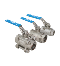 2-PC / 3-PC Economic Ball Valves