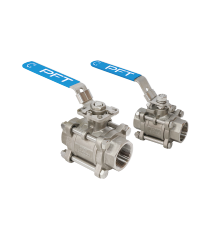 3-PC Ball Valves
